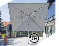 Shademaker Polaris 360° Drehung