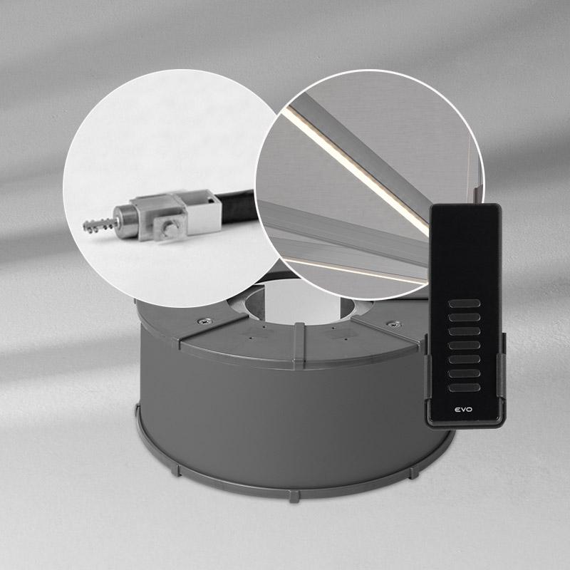 led beleuchtung und motor mit steuerung pz14 inkl 7 kanal fernbedienung produktsets zubeh r. Black Bedroom Furniture Sets. Home Design Ideas