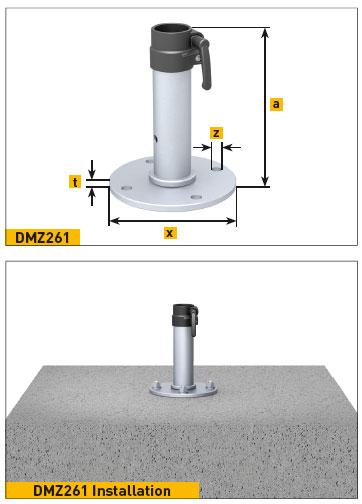 May Ankerplatte DMZ261