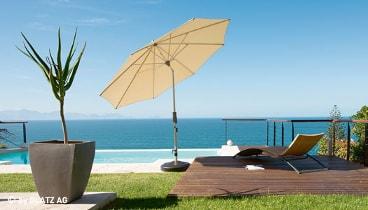 balkonschirme balkon sonnenschirme sonnenschirm zentrale. Black Bedroom Furniture Sets. Home Design Ideas
