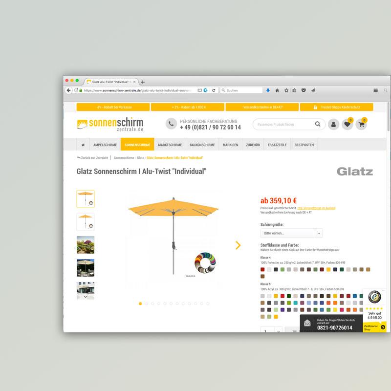 Hochwertige Sonnenschirme I Online Beim Fachhändler Kaufen
