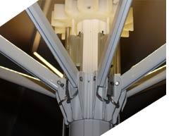 Sonnenschirm Bahama LED-Beleuchtung