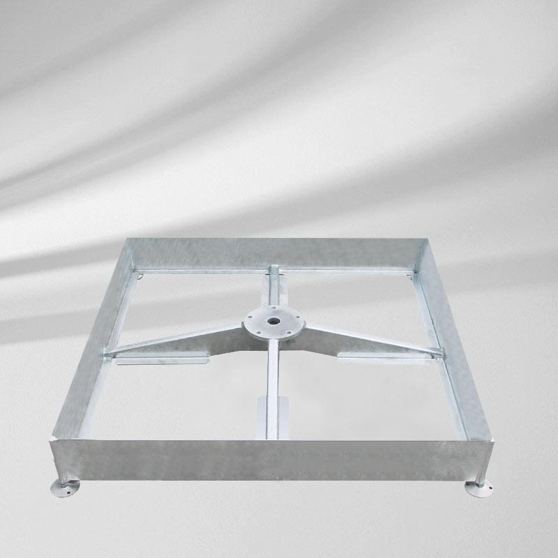 sockel m4 240 kg verzinkt castello m4 k4 mittelstockschirme zubeh r sonnenschirm. Black Bedroom Furniture Sets. Home Design Ideas
